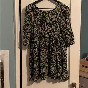 ASOS floral pattern dress